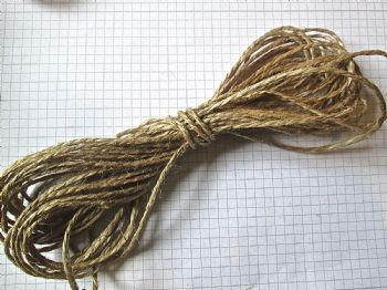 Natural POLISHED Jute Twine x 20 mts